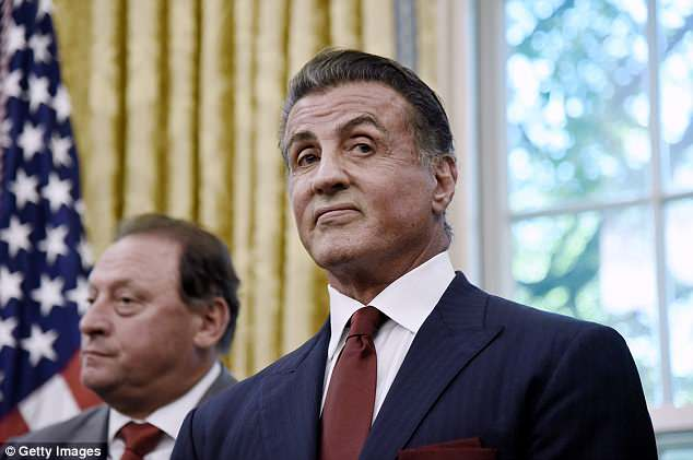 American Actor Sylvester Stallone Net Worth